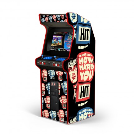 """How hard can you hit """"arcade box"""""""