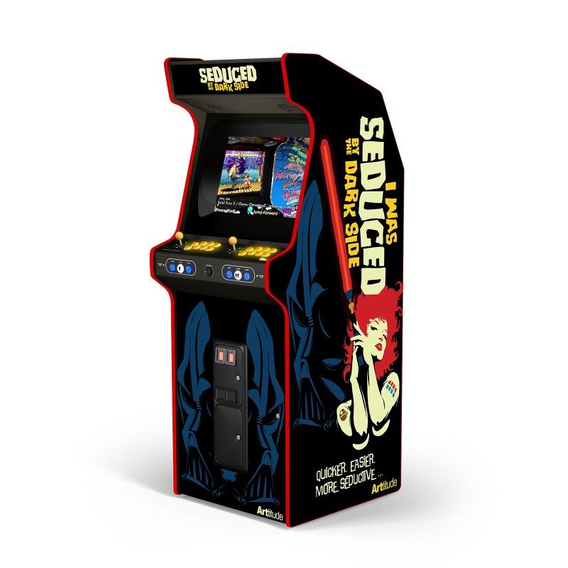 "SEDUCED BY THE DARK SIDE ""ARCADE BOX"""