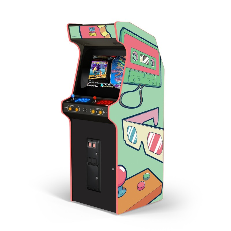 """BACK IN TIME ! MINT GREEN """"ARCADE BOX"""""""