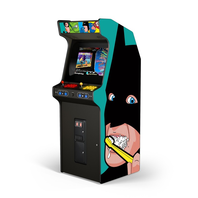 "BAT BRUSH ""ARCADE BOX"""