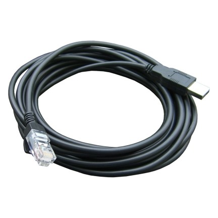 Cable PS360+: USB/RJ45