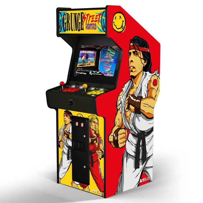 "GRUNGE FIGHTERS ""ARCADE BOX"""