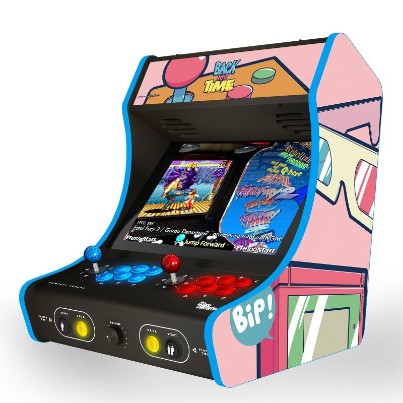 "BACK IN TIME ! candy pink ""Arcade Box"""