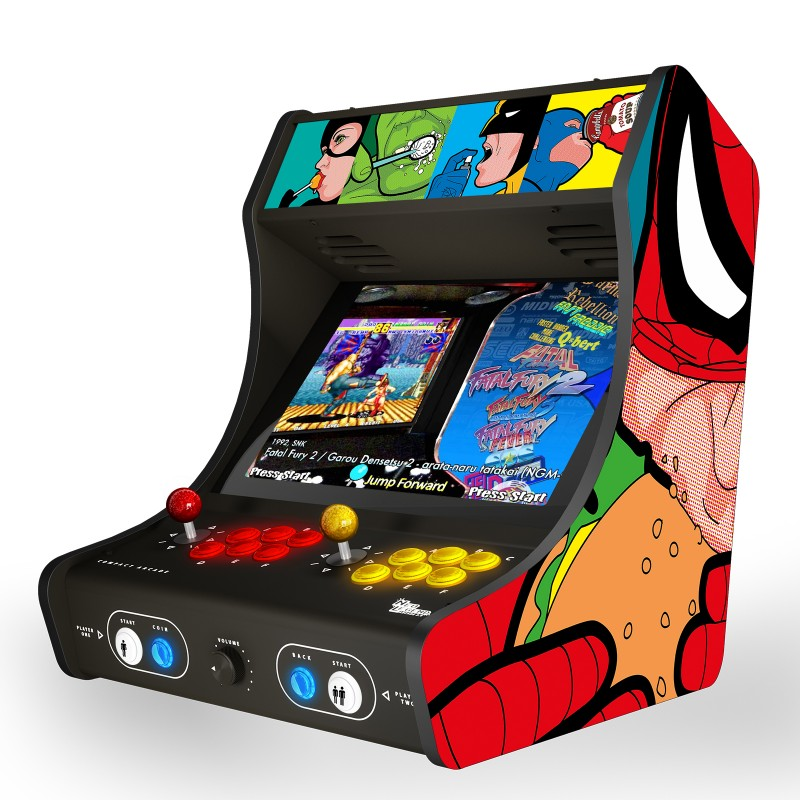 "SPIDER FOOD ""Arcade Box"""