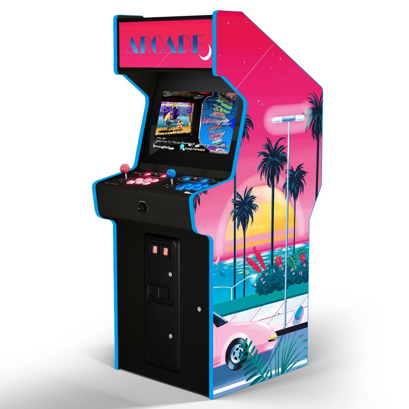 "SUNSET TROPICAL ""ARCADE BOX"""