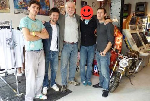 Nolan Bushnell (Mr Pong) à notre showroom