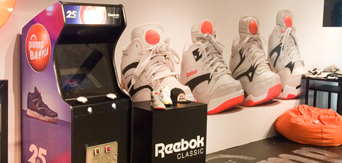 Neo Legend & Reebok : Pump battle