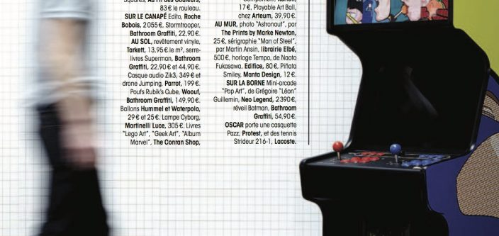 Neo Legend's arcade cabinet appears in Madame Figaro !