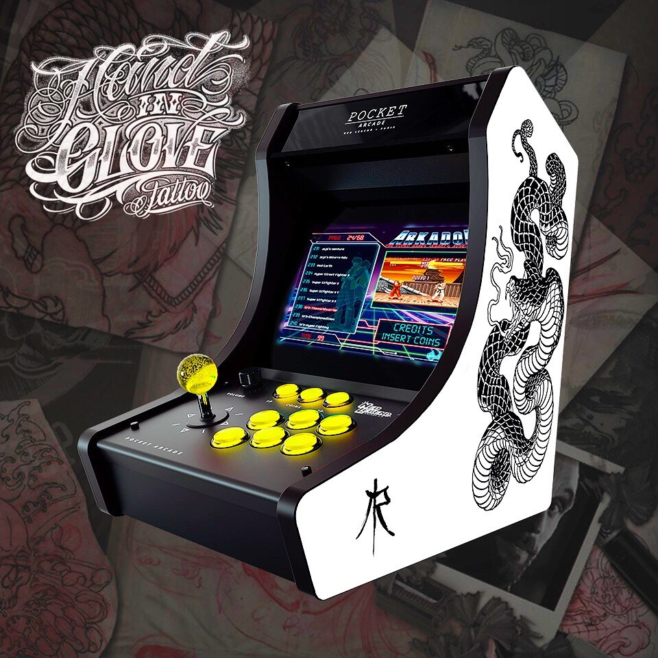 hand in glove compact arcade