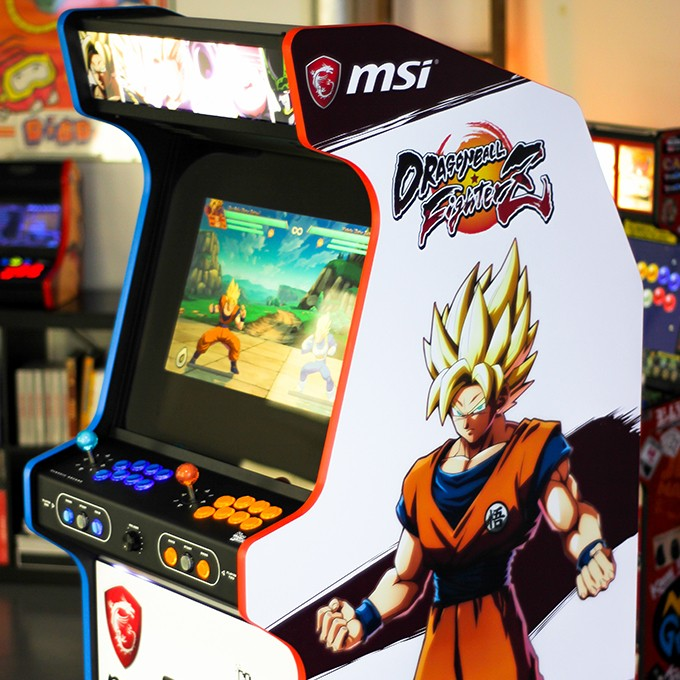 La Classic Dragon Ball FighterZ avec MSI et Bandai Namco